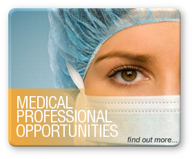 Medical Professional Opportunities