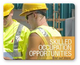 Skilled Occupation Opportunities